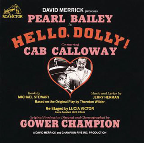 """Hello Dolly! 1967 Broadway Cast - Cab Calloway/Pearl Bailey"
