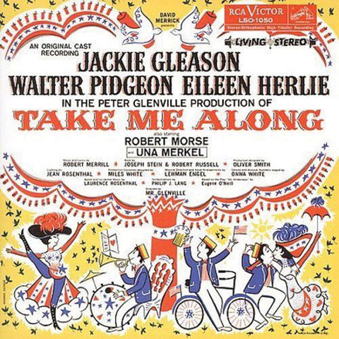 """Take Me Along"" 1959 Broadway Cast Recording - Jackie Gleason"