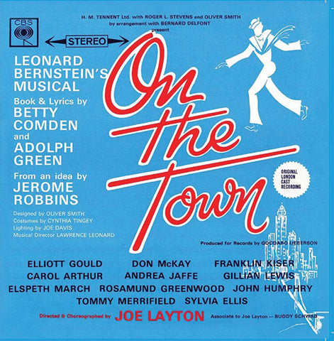 """On The Town"" 1963 London Cast Recording"""