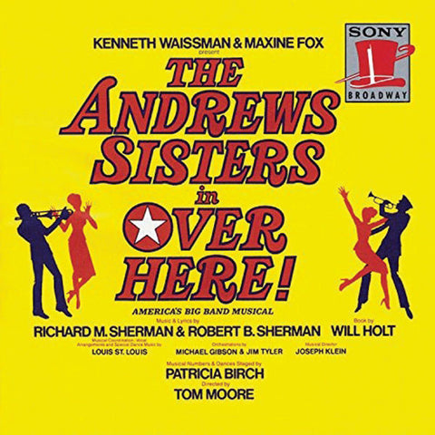"""Over Here"" 1974 Broadway Cast Recording - Andrews Sisters"