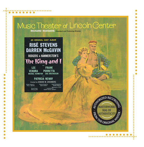 """The King & I"" 1964 Lincoln Center Cast Recording"