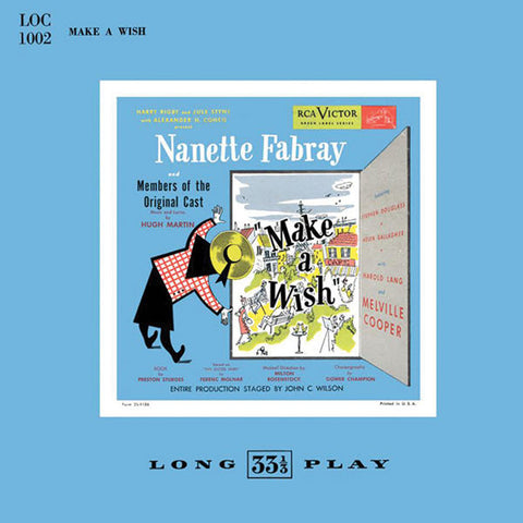 """Make A Wish 1951 Broadway Cast Recording"" Nanette Fabray"