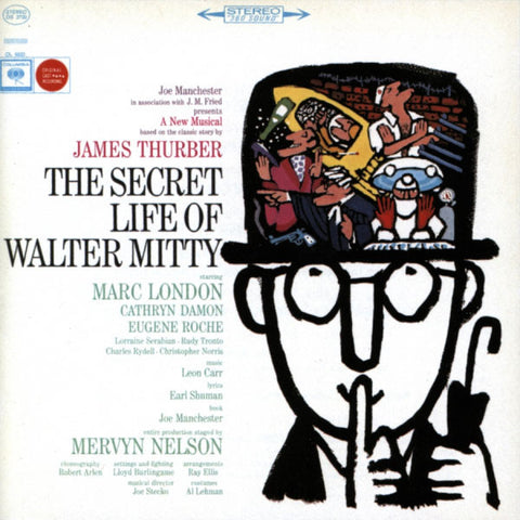 """The Secret Life of Walter Mitty"" 1964 Off-Broadway Cast Recording"