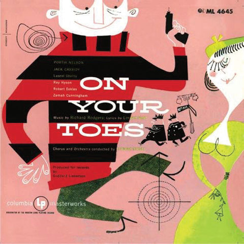 """On Your Toes"" 1952 Studio Cast Recording - Richard Rodgers"