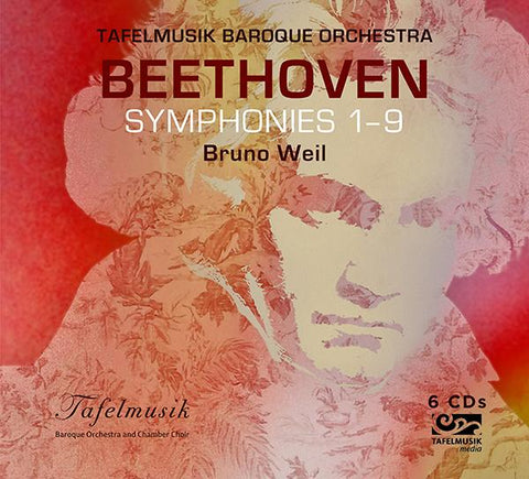 Beethoven: Symphonies 1-9 6-CD Set
