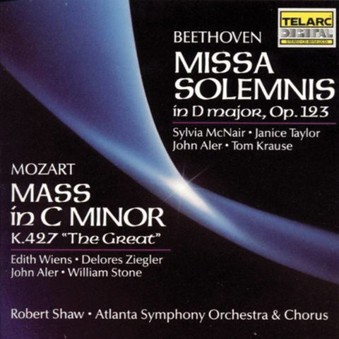 Beethoven: Missa Solemnis / Mozart: Mass In C Minor 2-CD