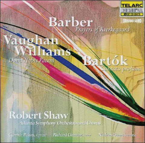 ASO: Barber, Bartok, Vaughan Williams