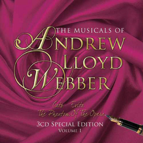 The Musicals Of Andrew Lloyd Webber 3CD Set