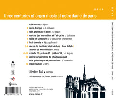 Three Centuries of Organ Music from Notre Dame