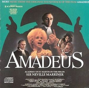 Amadeus More Music from the Original Soundtrack CD
