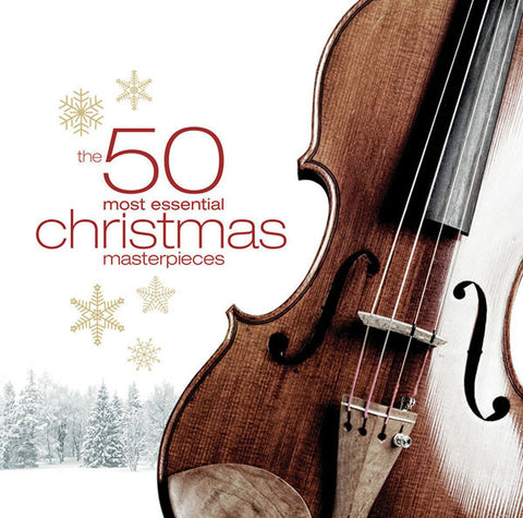50 Most Essential Christmas Masterpieces 3-CD Set