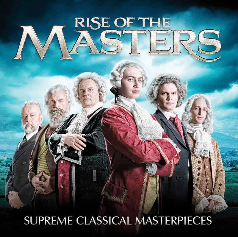 Rise of the Masters: Supreme Classical Masterpieces 4-CD Set