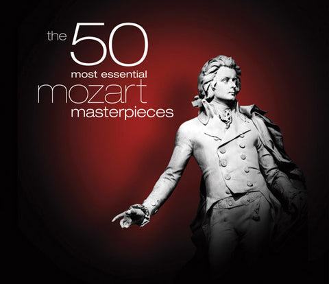 50 Most Essential Mozart Masterpieces 4-CD Set