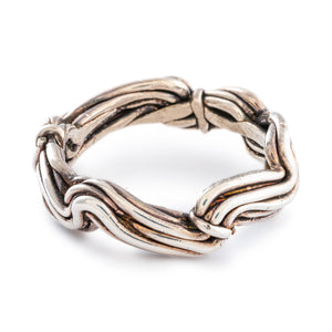 Silver Waves Ring