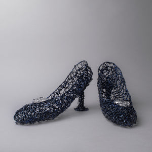 Hyacinthum Speculo Shoes (Blue Glass Shoes)