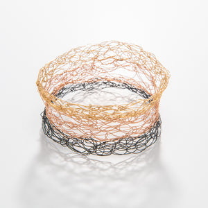 Thick Neapolitan Spun Bangle
