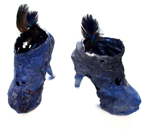 shoe sculpture,