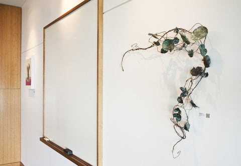 Botanical Sculptures Installed at Meditech in Fall River, MA