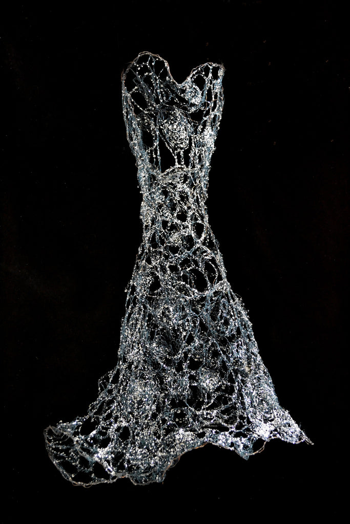 Wire Dress Sculpture -  Susan Freda