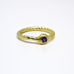 sapphire ring and gold. Arn krebs