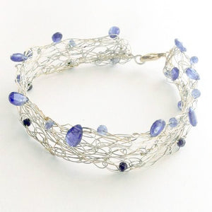 Kyanite Bangle