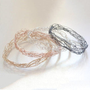 Thin Spun Bangle