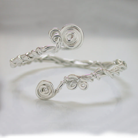 Twist Bracelet with Spirals