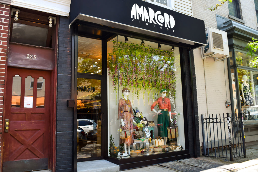 Amarcord Vintage Fashion Williamsburg Location