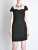 Vintage 1960s Crepe Little Black Dress - Amarcord Vintage Fashion  - 3