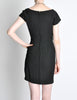 Vintage 1960s Crepe Little Black Dress - Amarcord Vintage Fashion  - 8