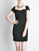 Vintage 1960s Crepe Little Black Dress - Amarcord Vintage Fashion  - 7