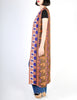 Vintage 1970s Embroidered Maxi Duster Vest - Amarcord Vintage Fashion  - 5