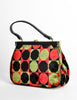 Vintage 1960s Mod Carpet Bag - Amarcord Vintage Fashion  - 3