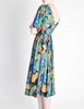 Vivien Smith Vintage Floral Print Cotton Dress - Amarcord Vintage Fashion  - 3