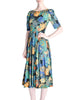 Vivien Smith Vintage Floral Print Cotton Dress - Amarcord Vintage Fashion  - 1