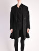 Alaïa Vintage Black Wool Double Breasted Coat - Amarcord Vintage Fashion  - 5