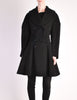 Alaïa Vintage Black Wool Double Breasted Coat - Amarcord Vintage Fashion  - 6