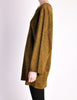 Alaïa Vintage Brown Gold Oversized Tunic Sweater - Amarcord Vintage Fashion  - 5