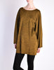 Alaïa Vintage Brown Gold Oversized Tunic Sweater - Amarcord Vintage Fashion  - 4