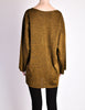 Alaïa Vintage Brown Gold Oversized Tunic Sweater - Amarcord Vintage Fashion  - 6