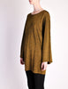 Alaïa Vintage Brown Gold Oversized Tunic Sweater - Amarcord Vintage Fashion  - 3