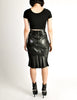 Alaïa Vintage Black Leather Pencil Skirt - Amarcord Vintage Fashion  - 6