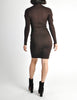 Alaïa Vintage Brown Stretch Knit Body Con Dress - Amarcord Vintage Fashion  - 6