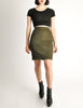 Alaïa Vintage Iconic Olive Green Stretch Skirt - Amarcord Vintage Fashion  - 2