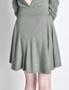 Alaïa Vintage Sage Green Deep V Back Dress - Amarcord Vintage Fashion  - 7