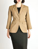 Alaïa Vintage Beige Tailored Blazer - Amarcord Vintage Fashion  - 4