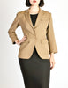 Alaïa Vintage Beige Tailored Blazer - Amarcord Vintage Fashion  - 2