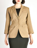 Alaïa Vintage Beige Tailored Blazer - Amarcord Vintage Fashion  - 3