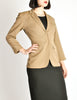 Alaïa Vintage Beige Tailored Blazer - Amarcord Vintage Fashion  - 5