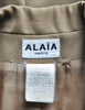 Alaïa Vintage Beige Tailored Blazer - Amarcord Vintage Fashion  - 8